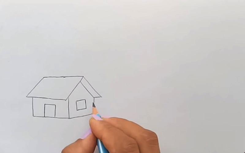 Vẽ phác thảo các nét cơ bản trước
